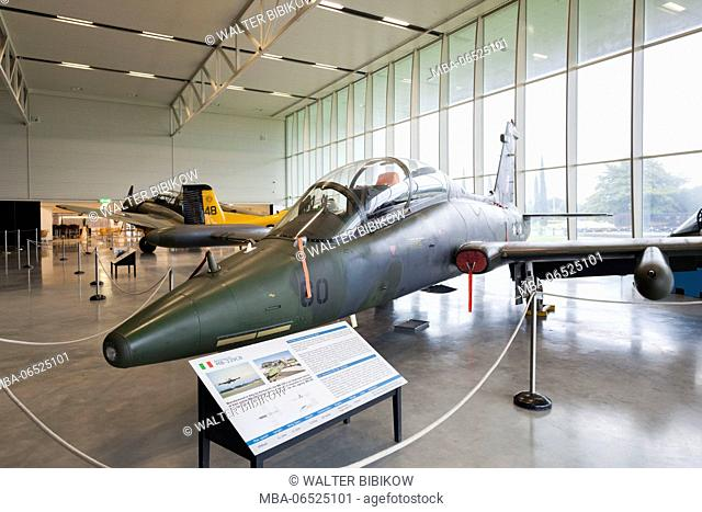 New Zealand, South Island, Christchurch, Royal New Zealand Air Force Museum, Aermacchi MB-339CB jet