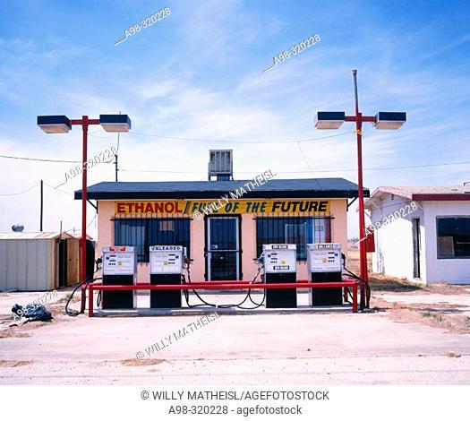 Gas station. Texas. USA