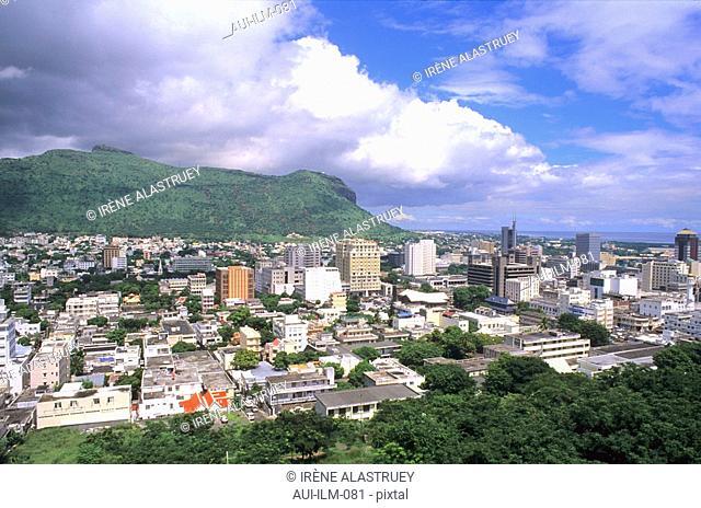 Mauritius - Port-Louis - The City - Landscape