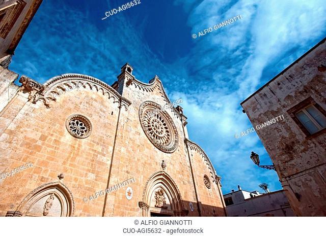 Ostuni Cathedral, Ostuni, Apulia, Italy, Europe