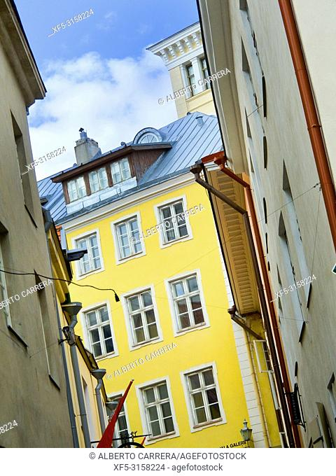 Traditional Architecture, Old Town, Tallinn, Estonia, Europe