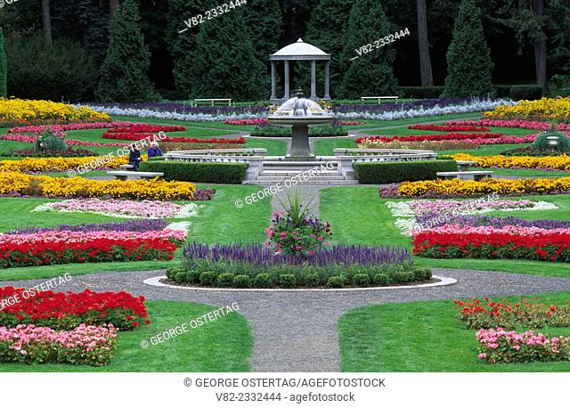 Duncan Garden, Manito Park, Spokane, Washington
