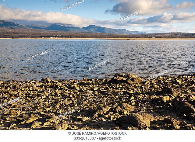 Santillana reservoir. Manzanares el Real. Madrid. Spain. Europe