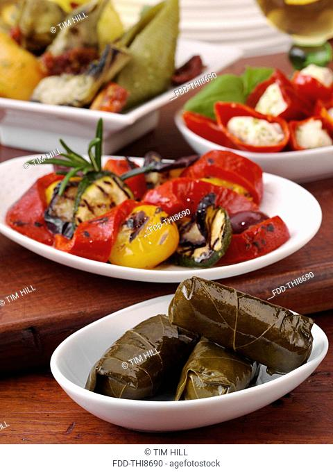 Meze Greek appetizers