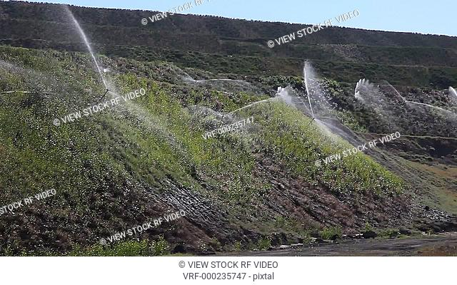 video of irrigation