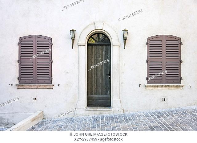 Charming traditional house detail, San Tropez, France