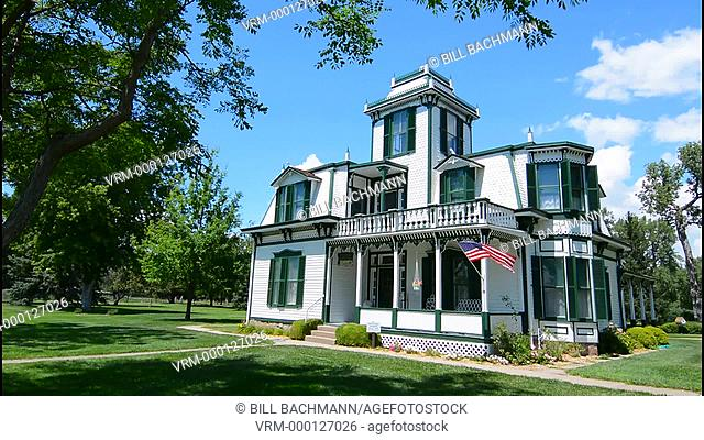 North Platte Nebraska home of famous Buffalo Bill built in 1886 Nebraska's most famous person cowboy