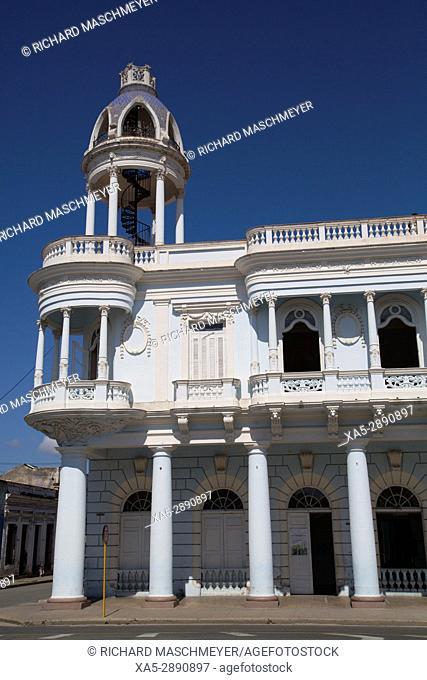 Ferrer Palace, Cienfuegos City, UNESCO World Heritage Site, Cienfuegos, Cuba