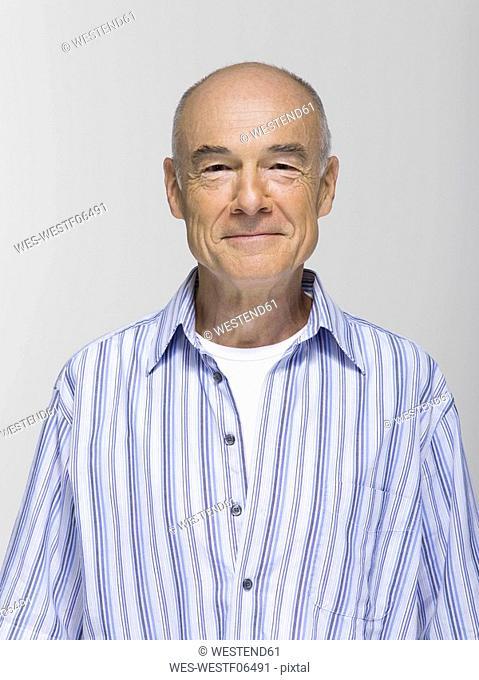 Portrait of a senior man, close-up