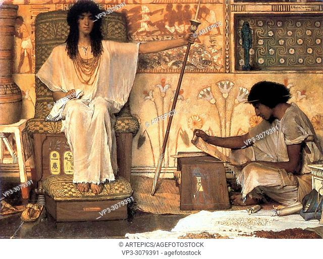 Alma-Tadema Lawrence - Joseph - Overseer of the Pharoah's Granaries