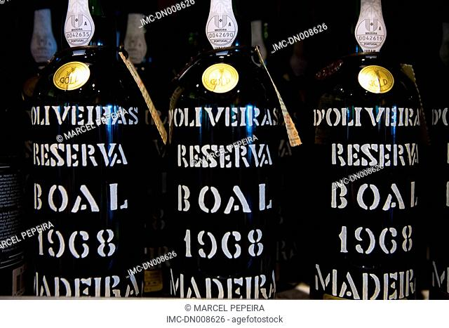 Portugal, Madeira, Funchal, bottles