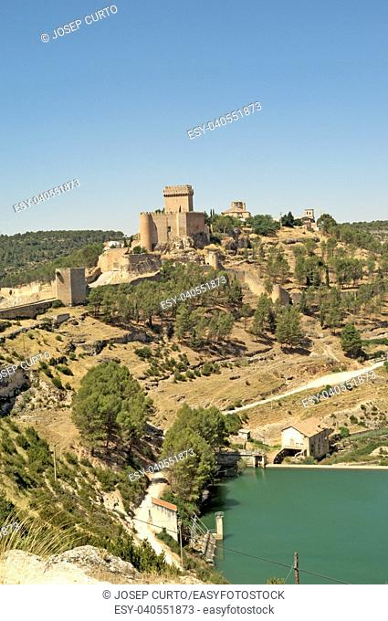 Castle of Alarcon Cuenca province, Spain