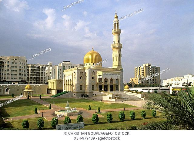 Azzawawi mosque,Muscat,Sultanate of Oman,Arabian Peninsula,Southwest Asia