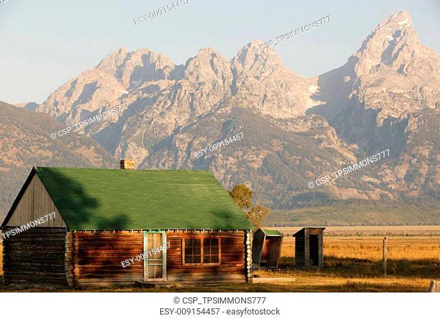 Morning Light in Grand Teton