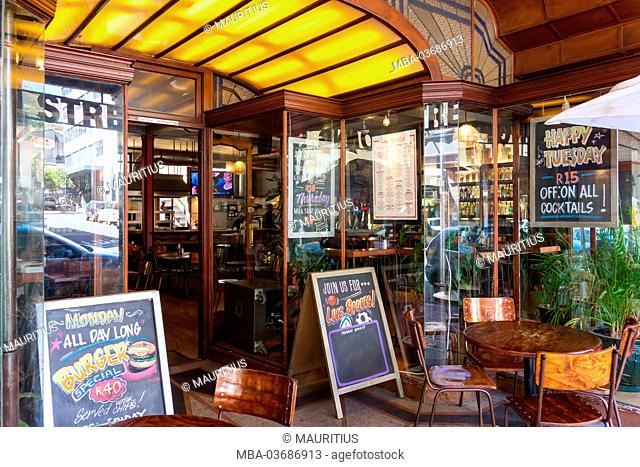 South Africa, Cape Town, bistro