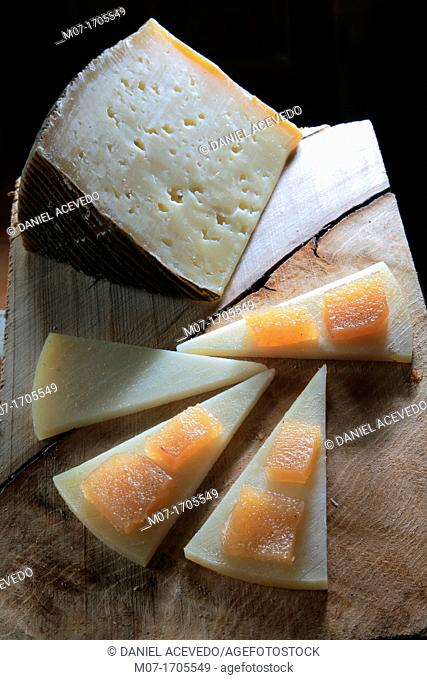 Cheese from La Mancha, Spain