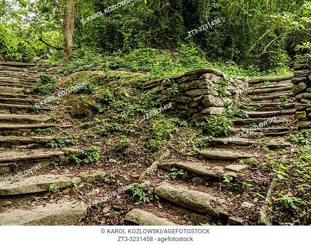 Pueblito Chairama, Tayrona National Natural Park, Magdalena Department, Caribbean, Colombia