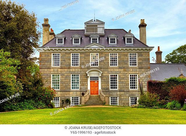 Sausmarez Manor, Guernsey, United Kingdom