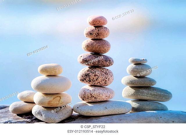 stones piles