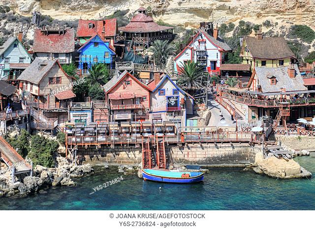 Popeye Village, Anchor Bay, Malta