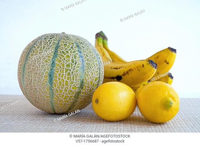 Assorted fruits. Still life
