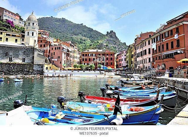 Vernazza, Village of Cinque Terre, Italy