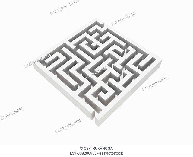 Illustration of labyrinth