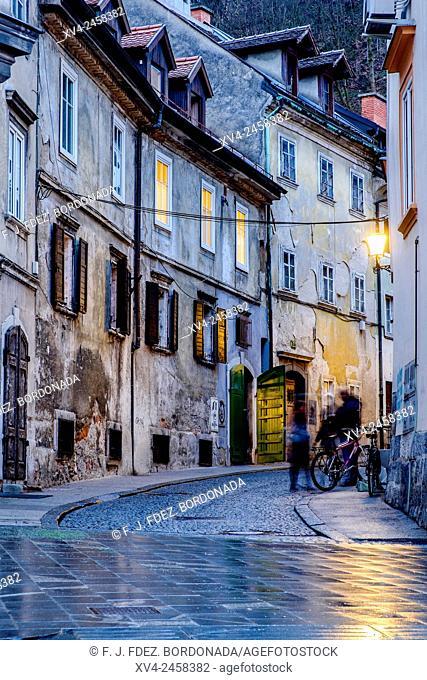Študentovska ulica, Ljubljana, Slovenia, Europe