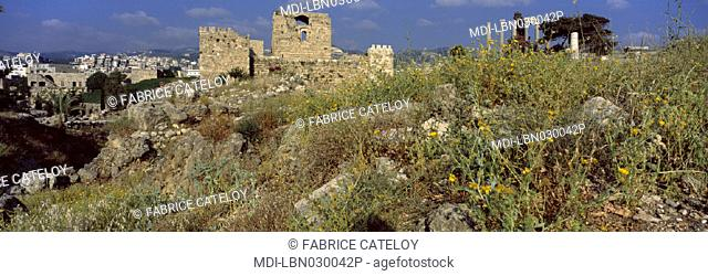 Byblos - Medieval city - Crusaders' castle built in 1108 to be a military base for the Gibelet nobility from Genov