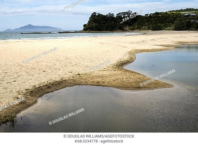 Waipu Cove, east coast of the north island, New Zealand