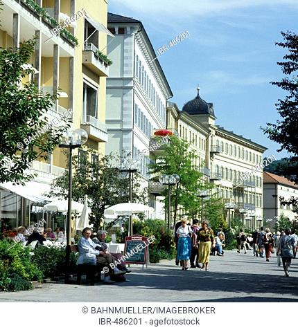 Bad Kissingen Lower Franconia Germany spa hotels besides the spa garden