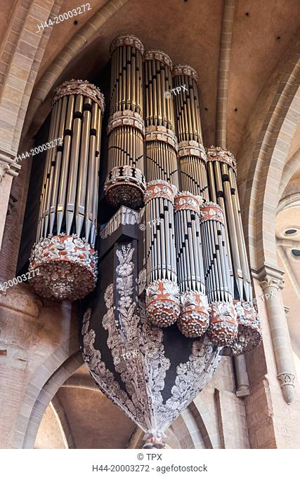 Germany, Rhineland-Palatinate, Moselle, Trier, The Cathedral (Dom), Cathedral Organ