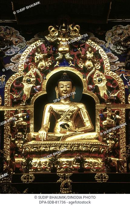Namdroling Nyingmapa Monastery ; Bylakuppe ; Karnataka ; India