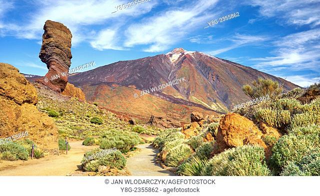 Teide National Park, Canary Islands, Tenerife, Spain