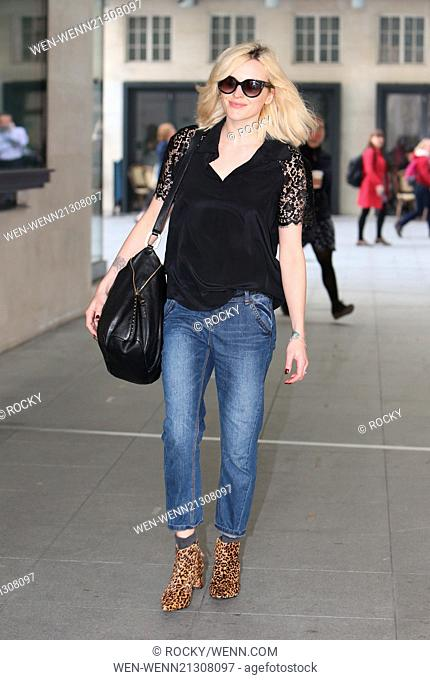 Fearne Cotton outside the BBC Radio 1 studios Featuring: Fearne Cotton Where: London, United Kingdom When: 30 Apr 2014 Credit: Rocky/WENN.com