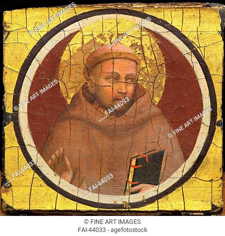 Saint Francis of Assisi by Giotto di Bondone (1266-1377)/Tempera on panel/Gothic/ca 1320/Italy, Florentine School/Ente Cassa di Risparmio