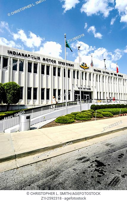 The Indianapolis Motor Speedway Hall of Fame Museum