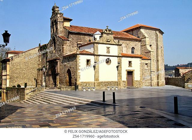 Aviles, Asturias, Spain, Padres Franciscanos church