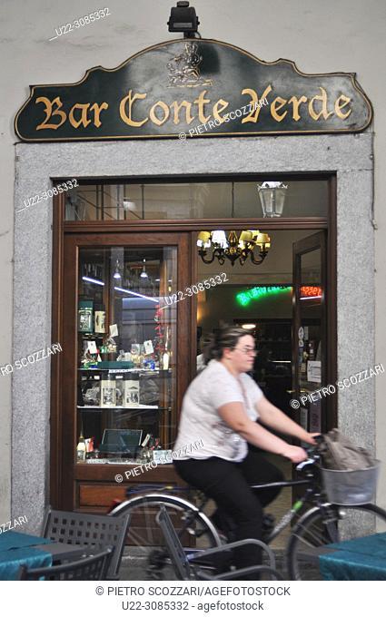 Turin, Italy: Bar Conte Verde