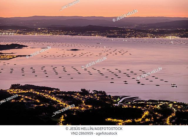They are the Ría de Muros e Noia, the Ría de Arousa, the Ría de Pontevedra, and the Ría de Vigo