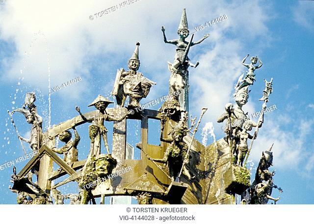 Germany, Mainz : Fastnachts Fountain