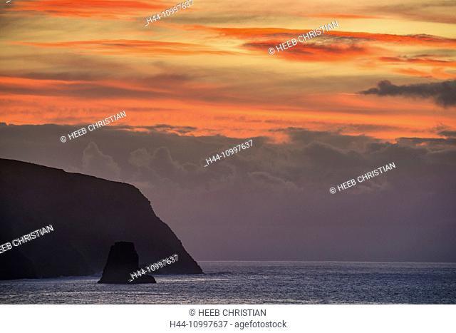 South America, Chile, Easter Island, Isla de Pasqua, south pacific, UNESCO, World Heritage, sunrise