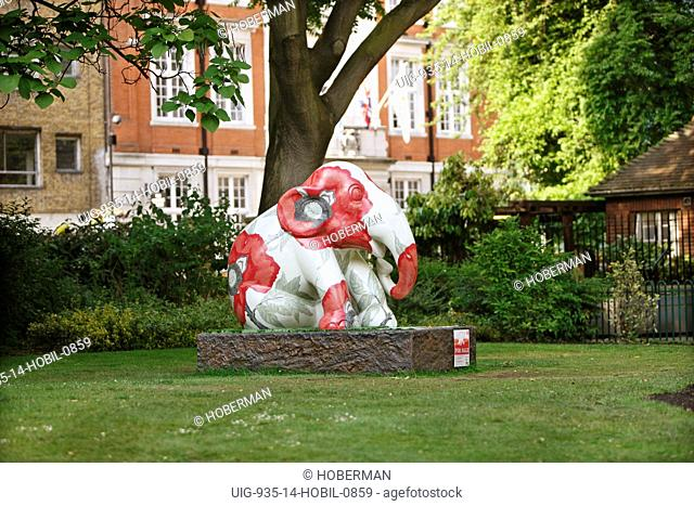 Elephant Parade Statue, London