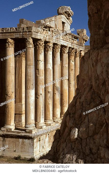 Bacchus Temple from the Jupiter Temple