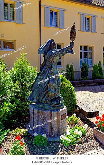 Kloster Waghäusel, Statue, Heilige Klara, Schutzpatronin