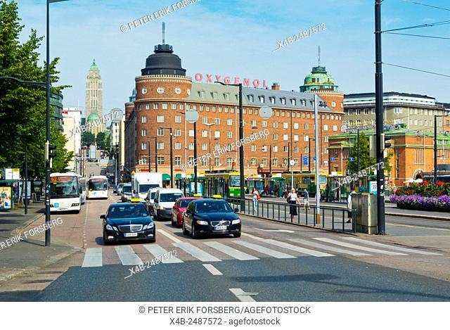 Hakaniemen tori, Helsinki, Finland