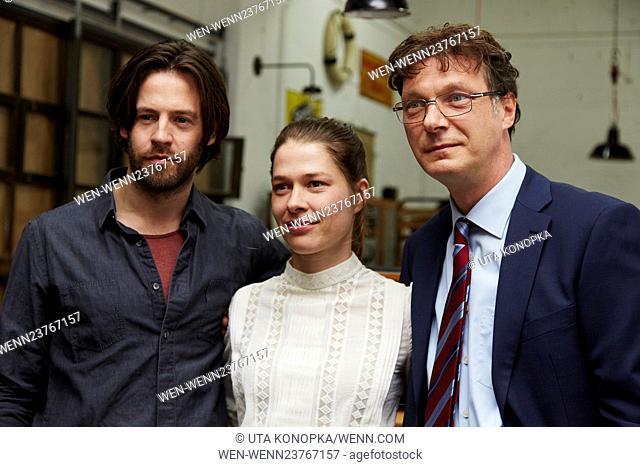 """New ARD series """"""""Frau Temme sucht das Glueck"""""""" Featuring: Richard Ulfsäter, Meike Droste, Martin Brambach Where: Cologne"""