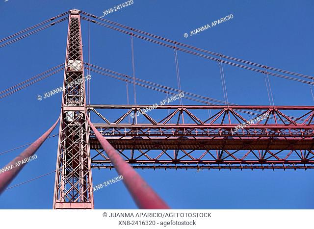 Puente de Bizcaya (Transporter Bridge), Portugalete, Biscay, Basque Country, Euskadi, Spain, Europe