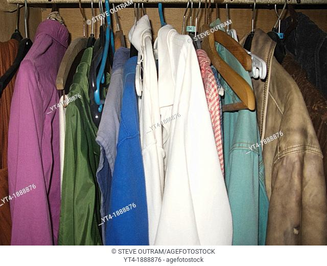 Clothing in Wardrobe