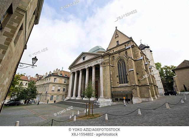 Saint Pierre Cathedral, Geneva, Switzerland